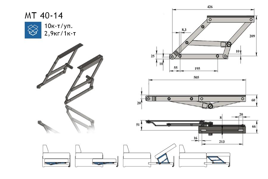 Изготовление дивана с механизмом дельфин своими руками